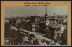 Celebrations - Parades - Municipal events - Funeral of General U.S. Grant - [City Hall.]