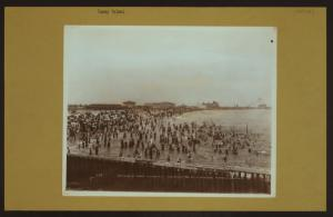 Islands - Coney Island - [Bathing at Coney Island beach.]