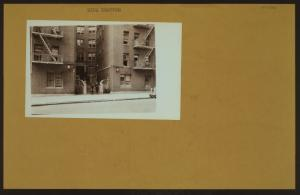 Social conditions - [Tenement conditions - NYC Housing Authority, Slum Clearance program.]