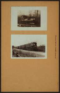 Transportation - Staten Island [Richmond - Graveyard for old Red Mike trolley cars - Shipping by railroad old Staten Island street cars by railroad when they were replaced by modern buses.]