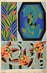 1. Flowers and foliage; 2. Foliage; 3. Flowers and foliage