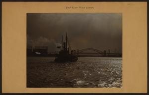 East River - River scenes - Manhattan - [Hell Gate and Triborough  Bridges.]