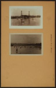 Hutchinson River - Bronx - [Pelham Bay Bridge.]