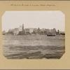 North (Hudson) River - River scenes - Lower Manhattan skyline.
