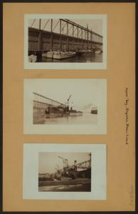 Upper Bay - Staten Island - Stapleton - [Unloading of coal].