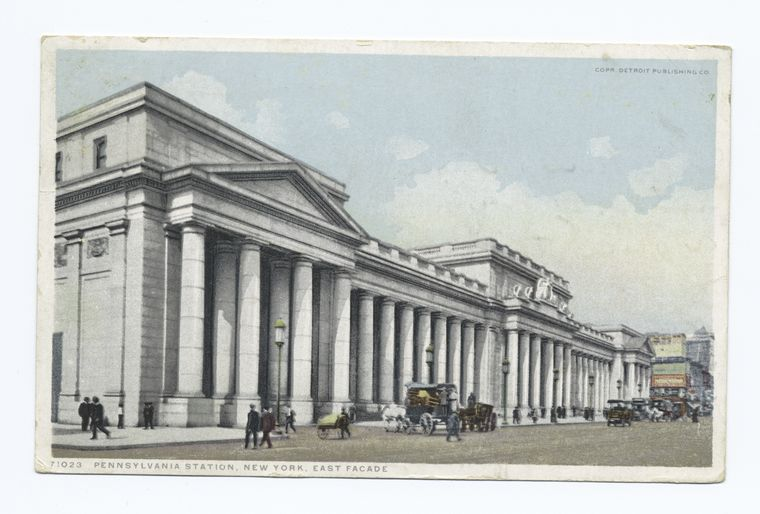 Penn. Station , East Facade, New York, N. Y.