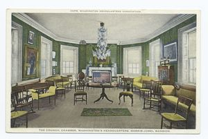The Council Chamber, Washington's Headquarters, Morris-Jumel Mansion, New York