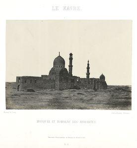 Le Kaire. Mosquée et tombeau des Ayoubites.