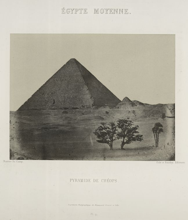 Fascinating Historical Picture of Cheops, King of Egypt in 1852