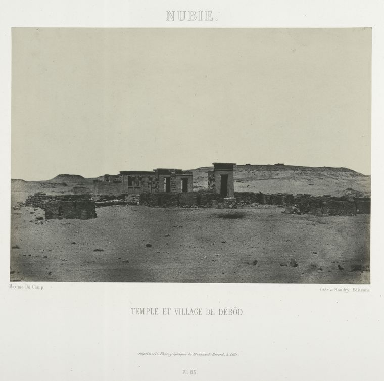 This is What Temple of Dab�d Looked Like  in 1852