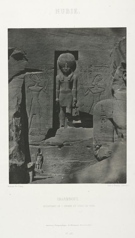 Fascinating Historical Picture of Great Temple in 1852