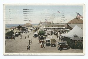 Amusement Park, Tent City, Coronado, Calif.