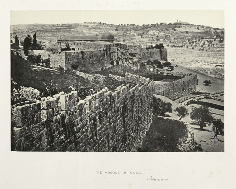Fascinating Historical Picture of Masjid al-Aqsa in 1862