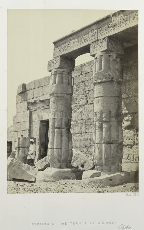 Fascinating Historical Picture of Seti I, King of Egypt in 1862