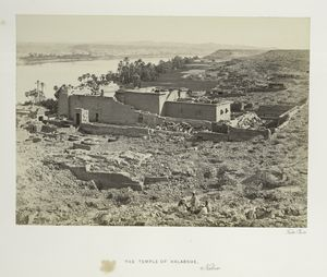 The Temple of Kalabshe, Nubia