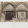 Saint Sépulcre, entrée principale