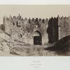 Porte de Damas, vue extérieure.
