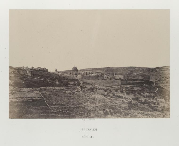 Fascinating Historical Picture of Qubbat al-Sakhrah in 1856