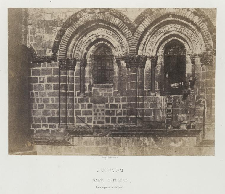 This is What Church of the Holy Sepulchre Looked Like  in 1856