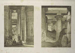 Karnac, salle hypostyle; Karnac, Temple de Khons