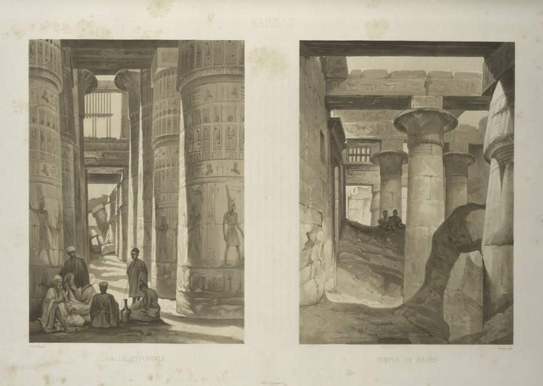 This is What Temple of Amon Looked Like  in 1841