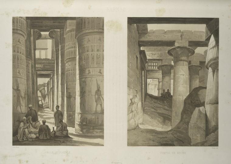 Panorama d'Egypte et de Nubie <br> H. Horeau. 1841
