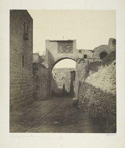 Arch of the Ecce Homo, Jerusalem, 1857