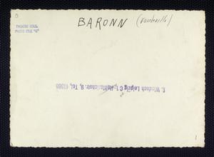 Baronn (Vaudeville)
