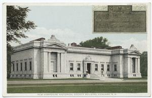 New Hampshire Historical Society Building, Concord, N. H.