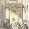 Jerusalem. Los Griegos en el santo sepulchro el sábado de gloria.