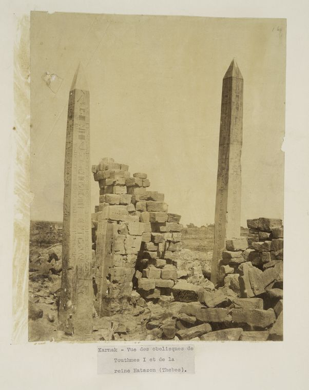 This is What Temple of Amon Looked Like  in 1855