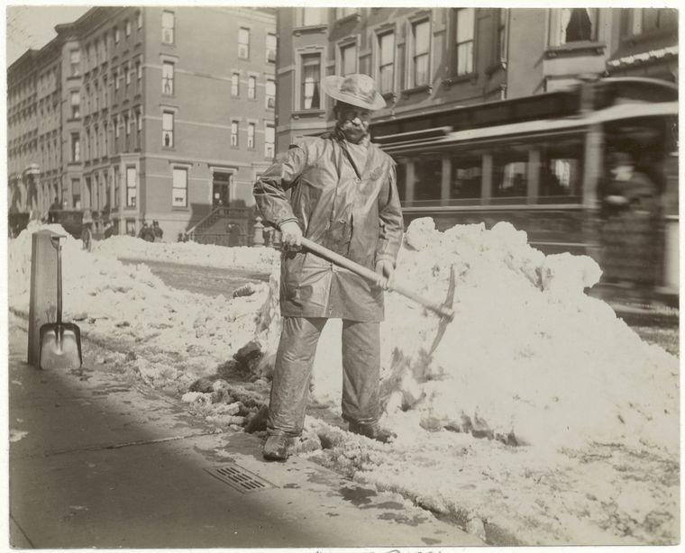 Snow removal.