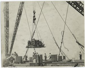 Cranes hoisting machinery