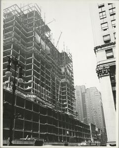 View of the building from 34th Street and Fifth Avenue