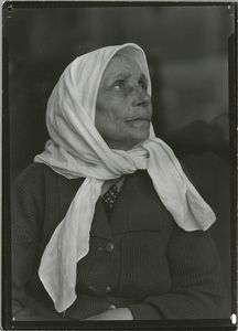 Portraits of immigrants at Ellis Island, New York