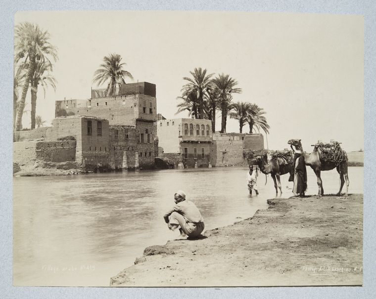 Gabriel Lekegian <br> Collection of views of Egypt, including Cairo and the pyramids. 1880-1889