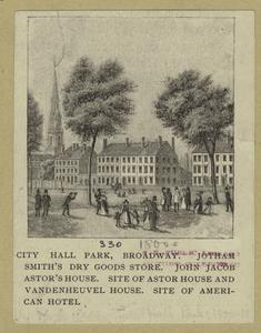 City Hall Park, Broadway.