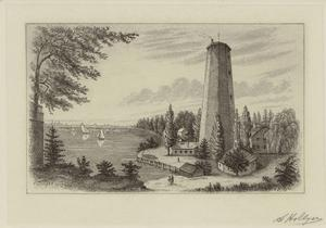 Shot Tower, New York, 1836.
