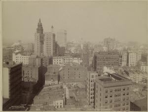 Panorama of New York.