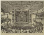 The Brooklyn Academy of Music -- interior.  Opening concert on Tuesday, January 15, 1861.