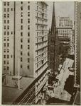 Broadway and Trinity Church, New York