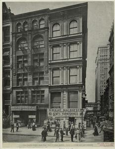 [Broadway street scene in Lower Manhattan, New York.]