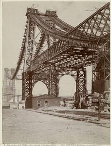 New East River bridge from Brooklyn.