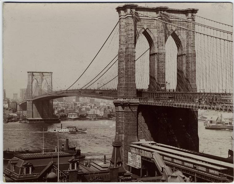 [Brooklyn Bridge.]