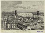 Brooklyn Bridge, seen from New York.