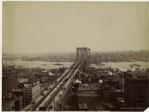 The Brooklyn Bridge, N.Y. (from the World Building.)