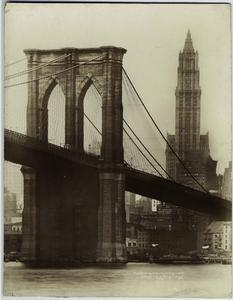 Brooklyn Bridge & Woolworth B'ldg.
