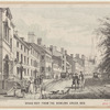 Broad Way from the Bowling Green, 1828.
