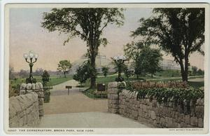 The Conservatory, Bronx Park, ... Digital ID: 800641. New York Public Library