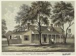 Sketch of Labon's Inn, Flatbush Avenue Brooklyn, 1853, taken by A. L. Vanderbilt, City Surveyor.